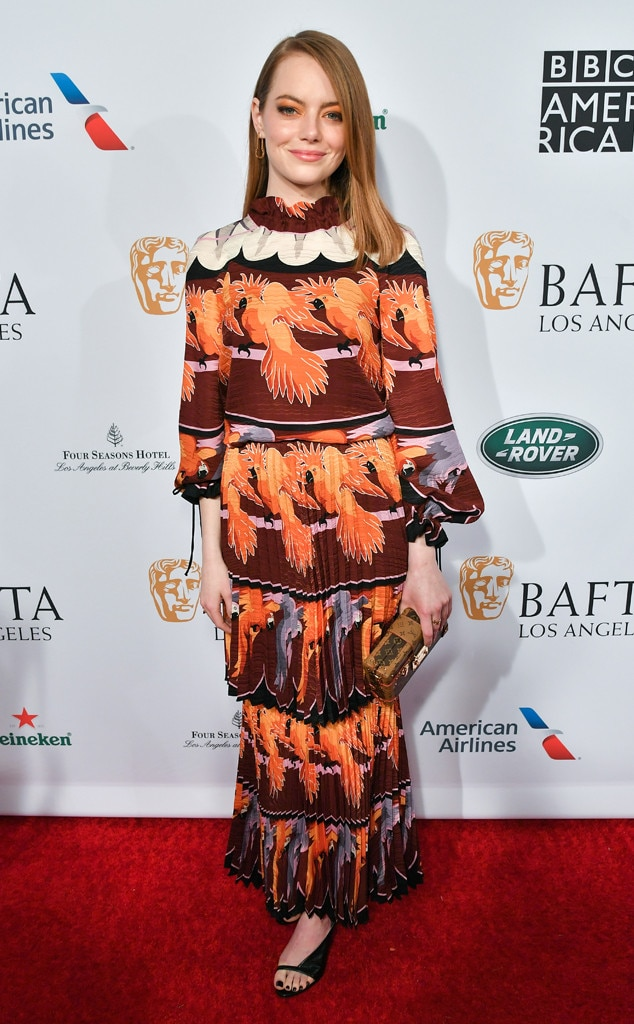 Emma Stone, BAFTA Los Angeles Tea Party 2019