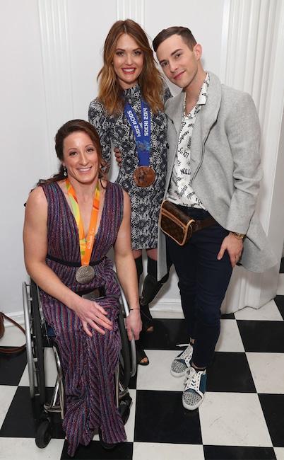Tatyana McFadden, Amy Purdy, Adam Rippon, Gold Meets Golden 2019