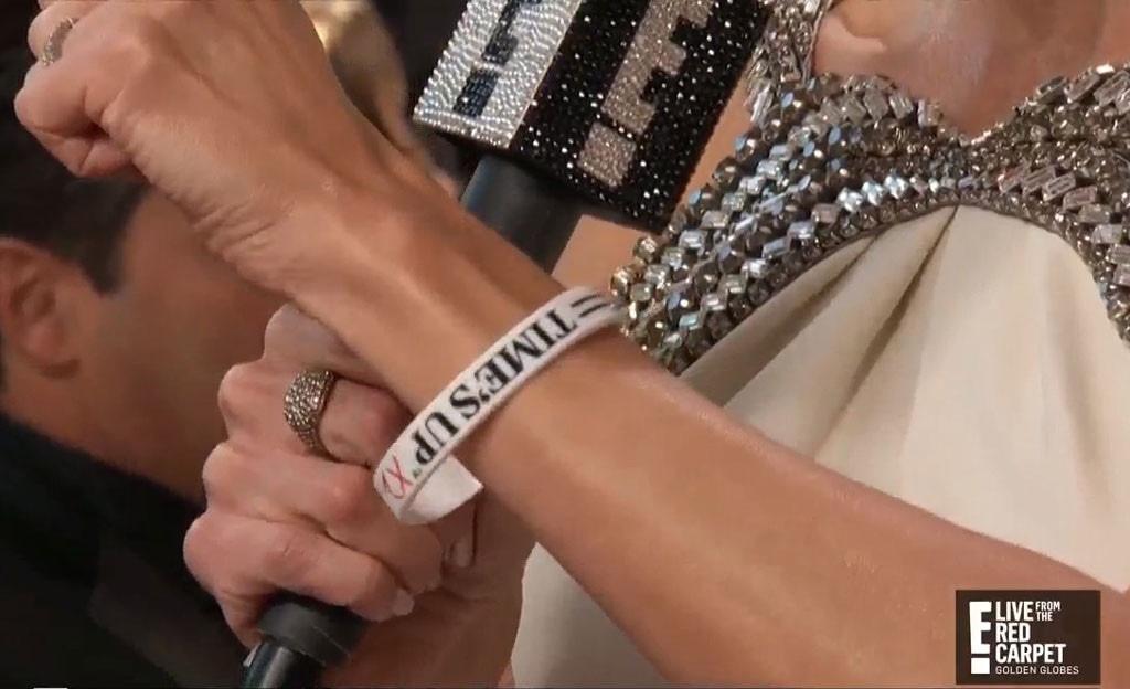 Giuliana Rancic, Time's Up, Golden Globes, 2019 Golden Globes