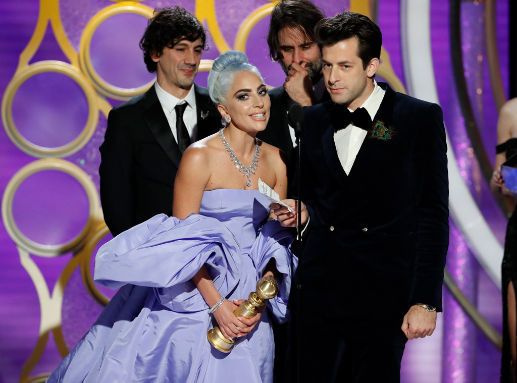 Lady Gaga, Mark Ronson, 2019 Golden Globes, Golden Globe Awards, Winners