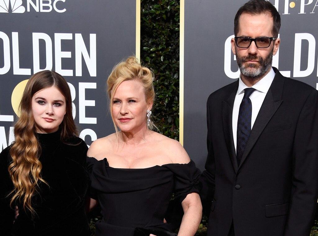 Patricia Arquette, Harlow Jane, Eric White, Golden Globe Awards