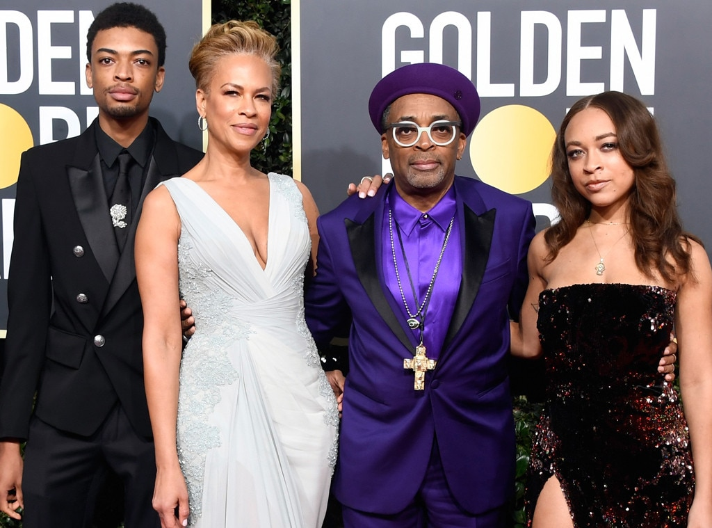 Spike Lee and family, Golden Globe Awards