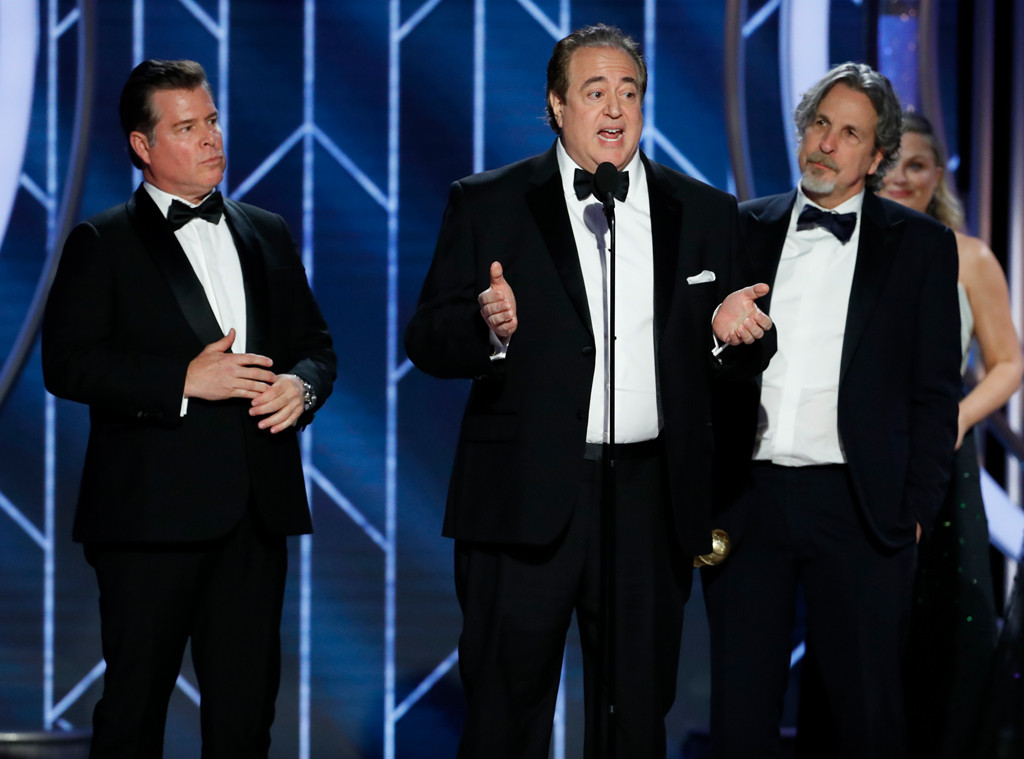 Brian Currie, Nick Vallelonga, Peter Farrelly , 2019 Golden Globes, Golden Globe Awards, Winners
