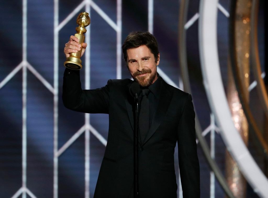 Christian Bale, 2019 Golden Globes, Golden Globe Awards, Winners