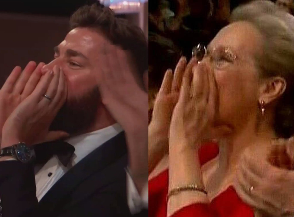 John Krasinski, Meryl Streep, 2019 Golden Globes