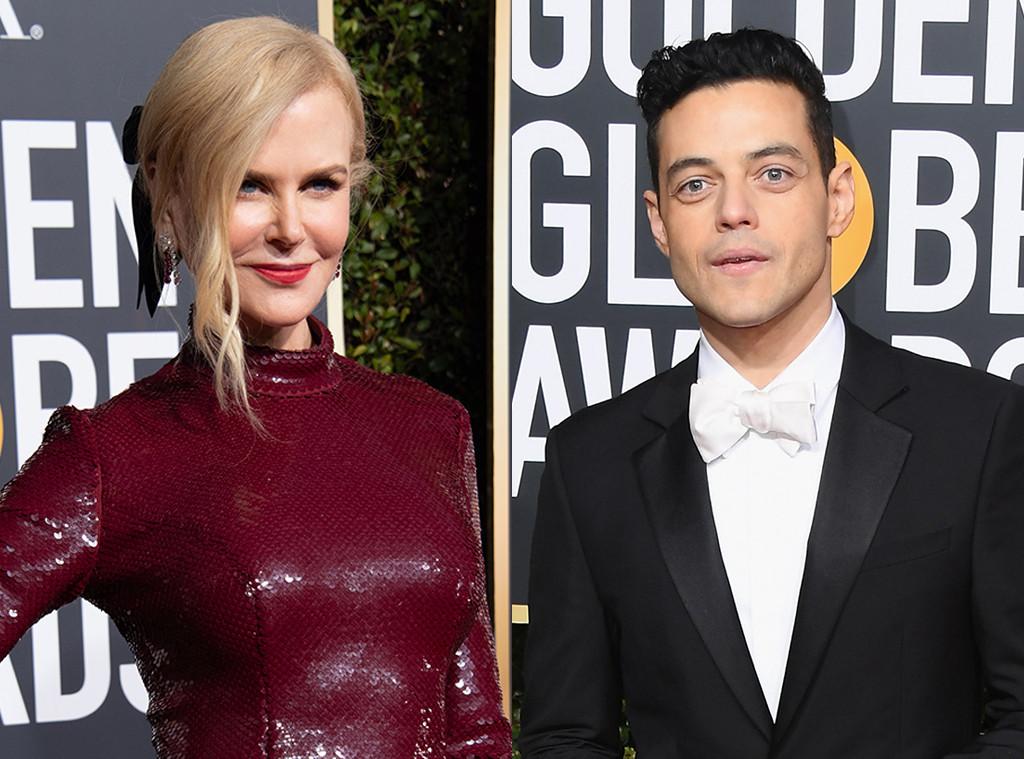 Nicole Kidman, Rami Malek, 2019 Golden Globe Awards