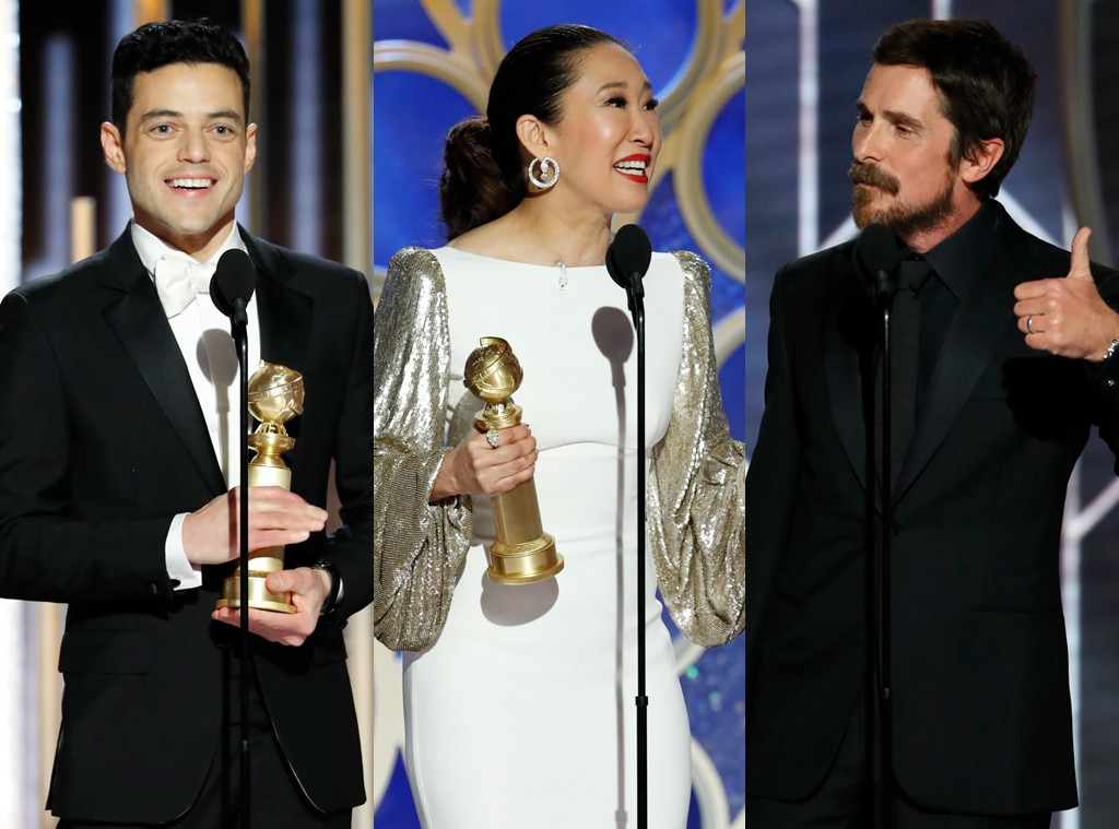 Fiji Water Girl gets her 'Golden Globes'