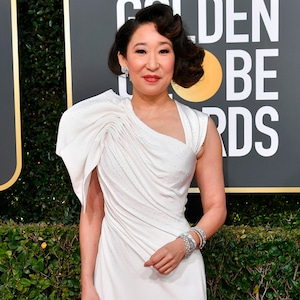 Sandra Oh, 2019 Golden Globes, Golden Globe Awards, Red Carpet Fashions