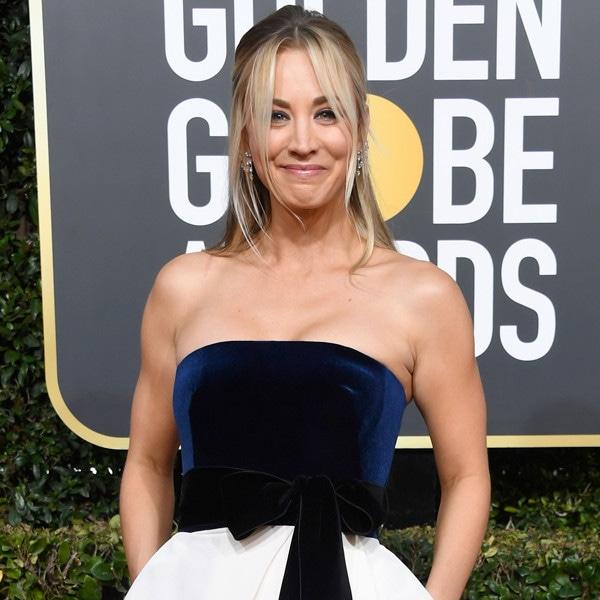 Kaley Cuoco, 2019 Golden Globes, Golden Globe Awards, Red Carpet Fashions