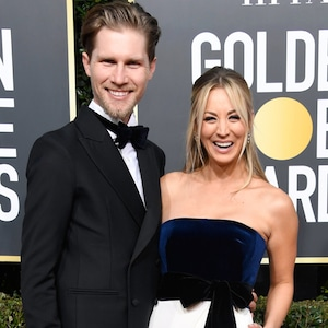 Karl Cook, Kaley Cuoco, 2019 Golden Globes, Couples