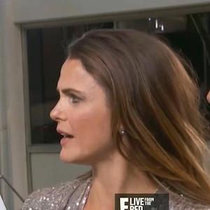 Keri Russell, Matthew Rhys, 2019 Golden Globes, Red Carpet, E! News
