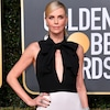 Charlize Theron Talks Pressures of Motherhood on the 2019 Golden Globes Red Carpet