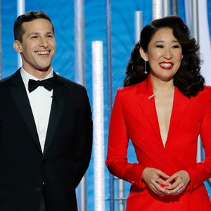 Sandra Oh, Andy Samberg, 2019 Golden Globes, Golden Globe Awards, Show