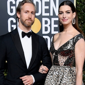 Adam Shulman, Anne Hathaway, 2019 Golden Globes, Couples