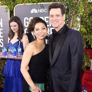 Jim Carrey, Ginger Gonzaga, Fiji Water
