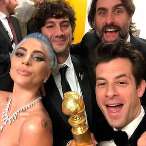 Lady Gaga, Mark Ronson, Golden Globes 2019