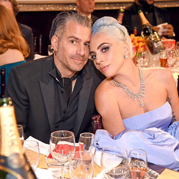 Lady Gaga, Christian Carino, 2019 Golden Globe Awards