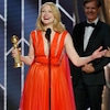 Patricia Clarkson Thanks <i>Sharp Objects</i>' Boss for Demanding Everything From Her &quot;Except Sex&quot; After Golden Globes Win