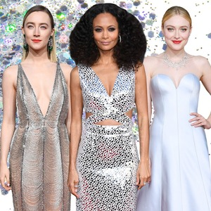 ESC: Silver Sequin Trend, Golden Globes 2019