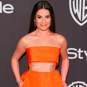 Lea Michele, 2019 Golden Globe Awards, After Party