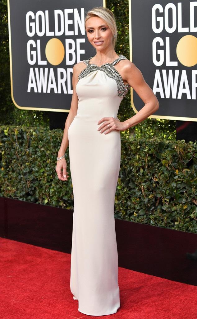 Giuliana Rancic, 2019 Golden Globes, Golden Globe Awards, Red Carpet Fashions