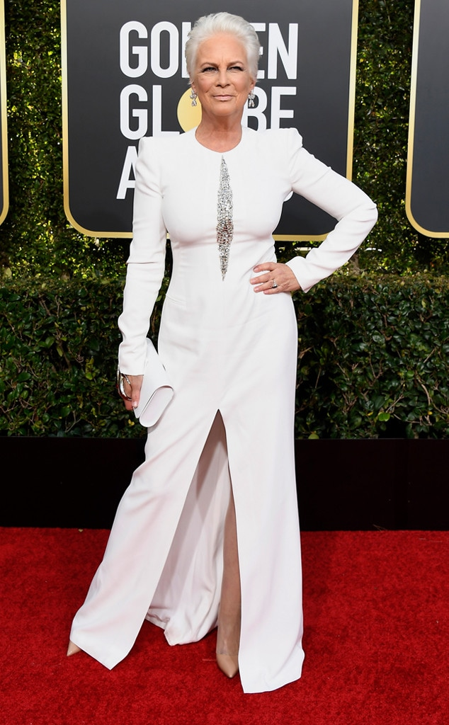 Jamie Lee Curtis, 2019 Golden Globes, Golden Globe Awards, Red Carpet Fashions