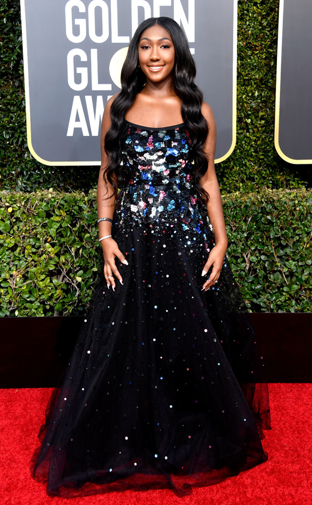 Isan Elba, 2019 Golden Globes, Golden Globe Awards, Red Carpet Fashions