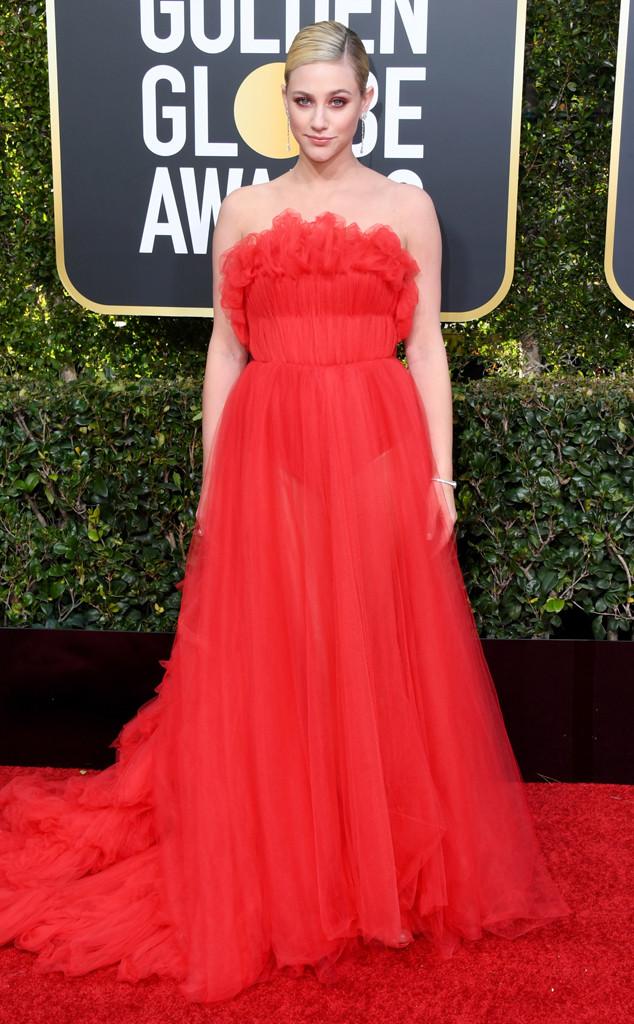 Lili Reinhart, 2019 Golden Globes, Golden Globe Awards, Red Carpet Fashions