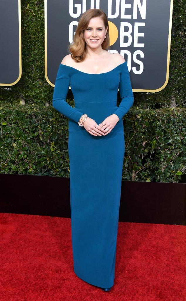 Amy Adams, 2019 Golden Globes, Golden Globe Awards, Red Carpet Fashions