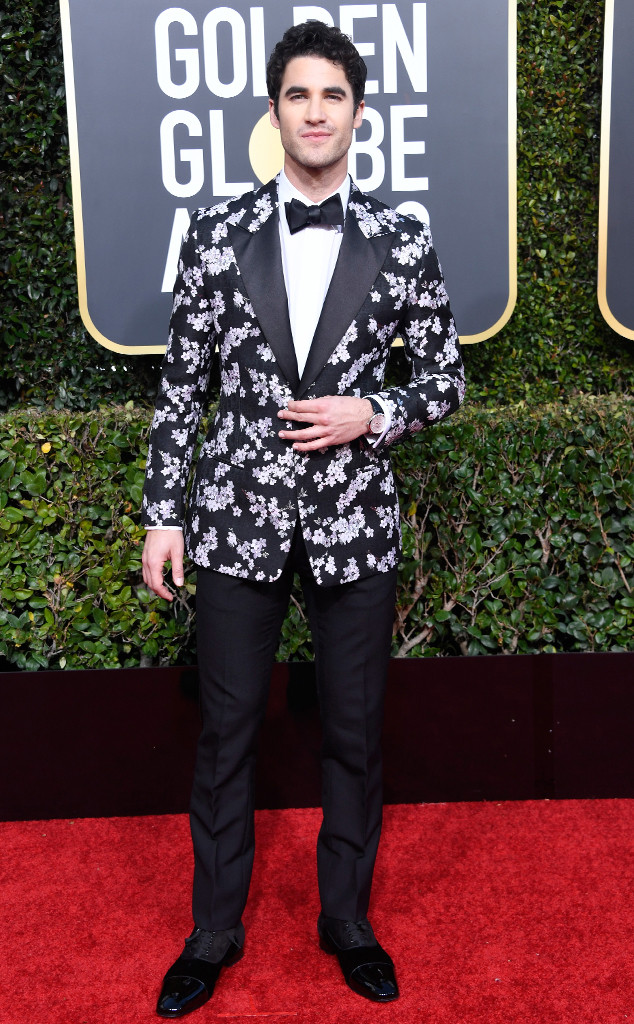Darren Criss, 2019 Golden Globes, Golden Globe Awards, Red Carpet Fashions