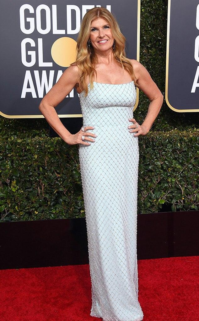 Connie Britton, 2019 Golden Globes, Golden Globe Awards, Red Carpet Fashions