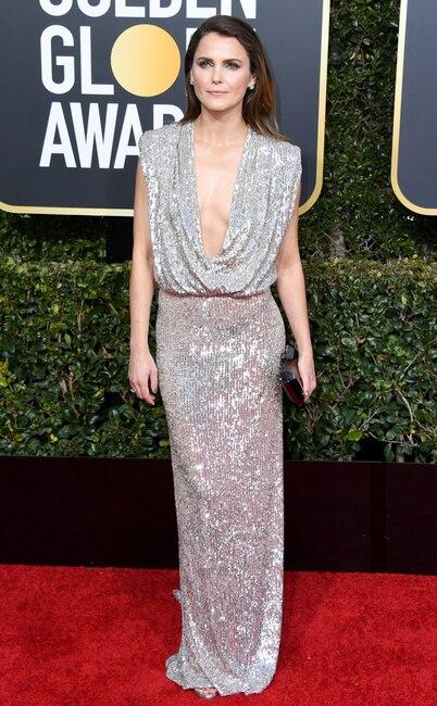 Keri Russell, 2019 Golden Globes, Golden Globe Awards, Red Carpet Fashions