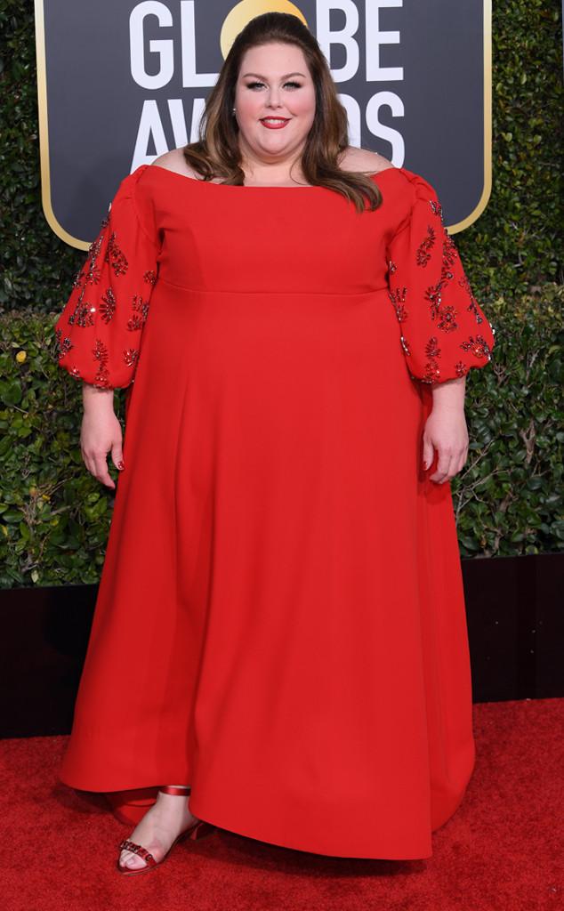 Chrissy Metz, 2019 Golden Globes, Golden Globe Awards, Red Carpet Fashions