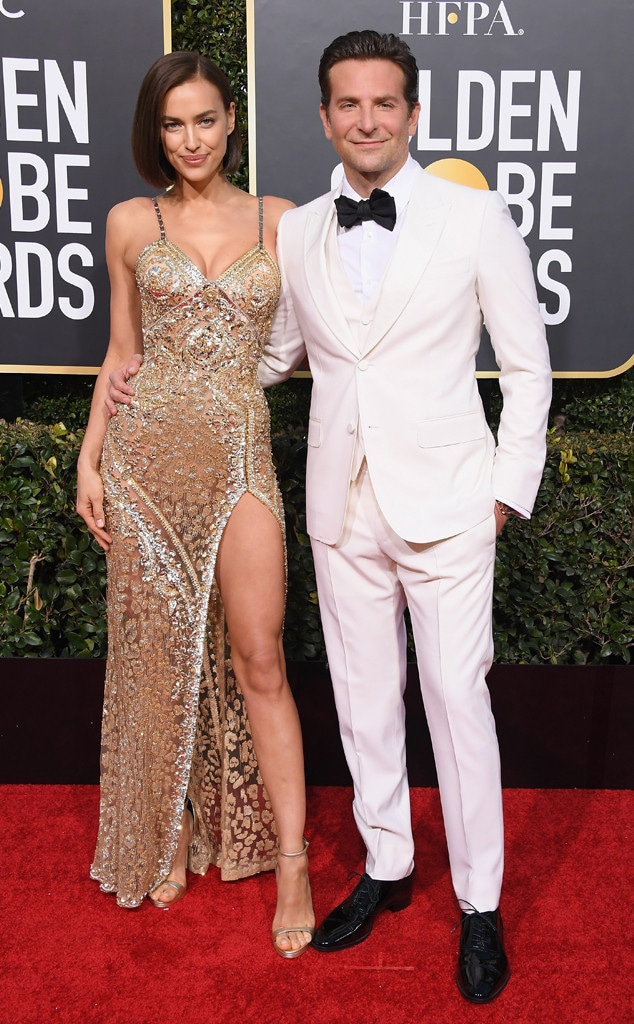 Bradley Cooper, Irina Shayk, 2019 Golden Globes, Couples