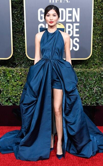 Gemma Chan, 2019 Golden Globes, Golden Globe Awards, Red Carpet Fashions