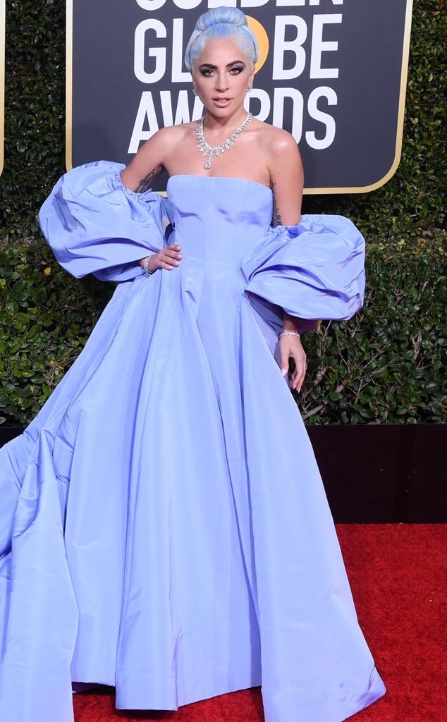 Lady Gaga, 2019 Golden Globes, Golden Globe Awards, Red Carpet Fashions
