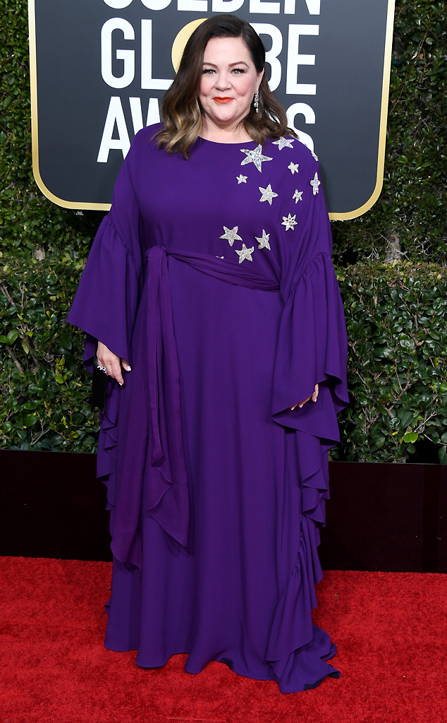 Melissa McCarthy, 2019 Golden Globes, Golden Globe Awards, Red Carpet Fashions