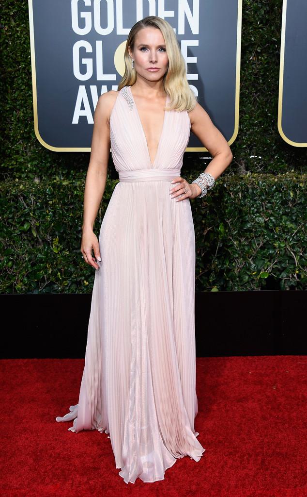 Kristen Bell, 2019 Golden Globes, Golden Globe Awards, Red Carpet Fashions
