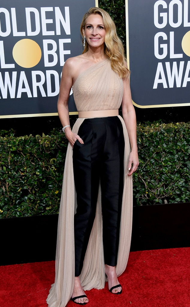 Julia Roberts, 2019 Golden Globes, Golden Globe Awards, Red Carpet Fashions