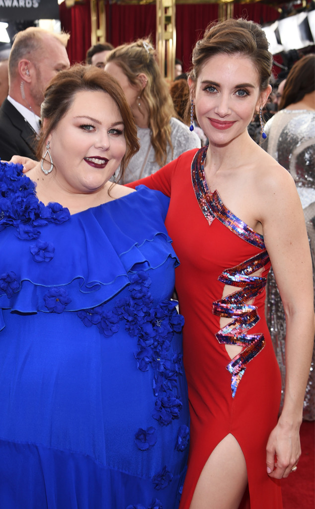 Chrissy Metz, Alison Brie, SAG Awards 2018