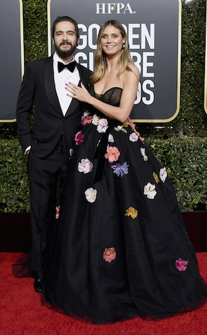 Tom Kaulitz, Heidi Klum, 2019 Golden Globes, Couples