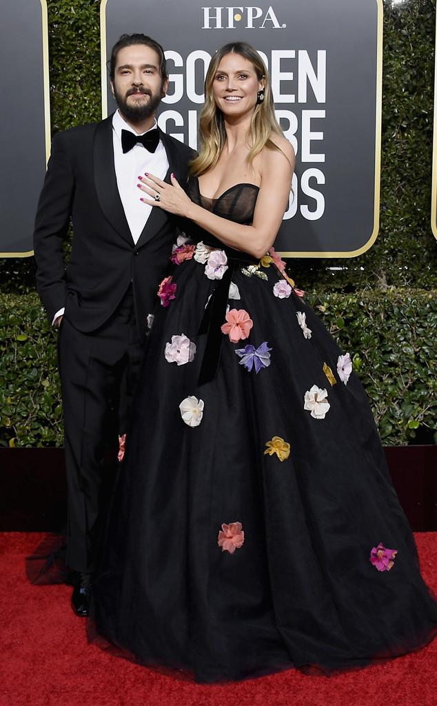 Tom Kaulitz, Heidi Klum, 2019 Golden Globes, Couples