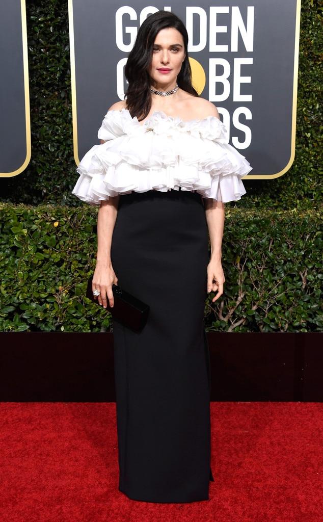 fea5b5efad35bb Rachel Weisz from 2019 Golden Globes Red Carpet Fashion | E! News