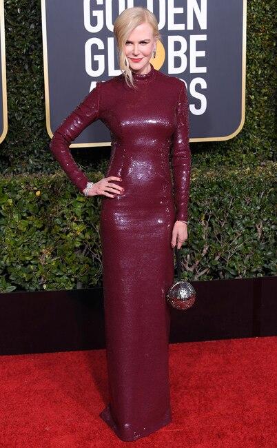 Nicole Kidman, 2019 Golden Globes, Golden Globe Awards, Red Carpet Fashions