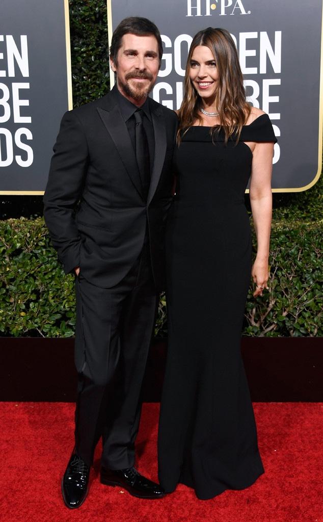 Christian Bale, Sibi Blazic, 2019 Golden Globes, Couples