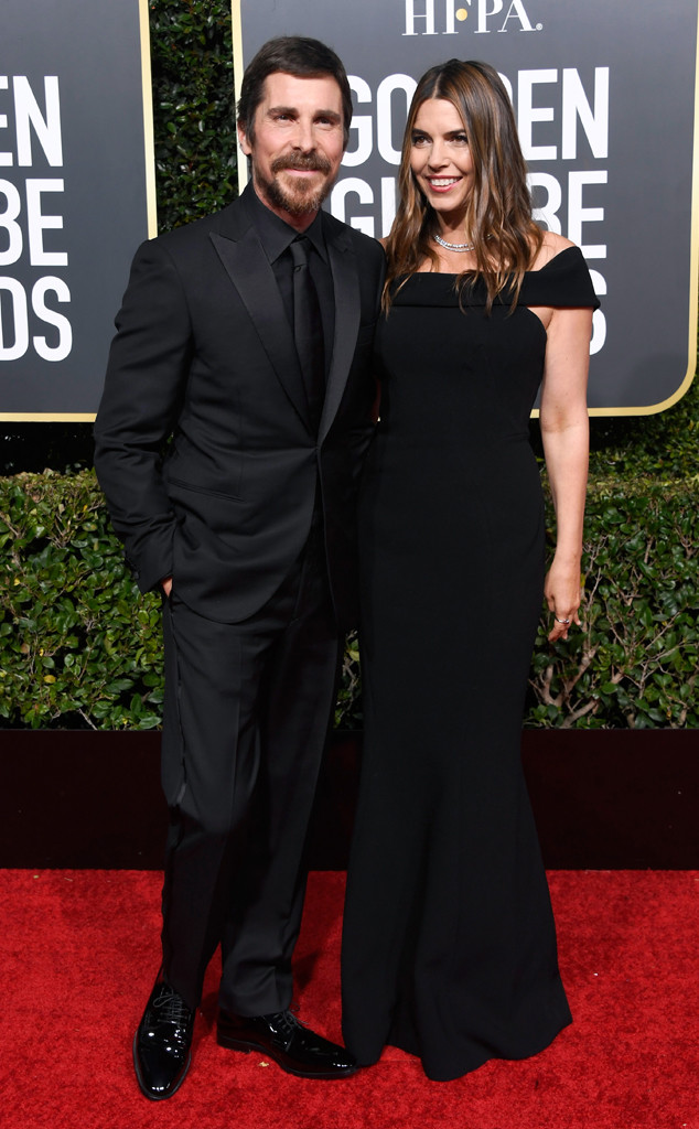 Christian Bale, Sibi Blazic, 2019 Golden Globes, Couples