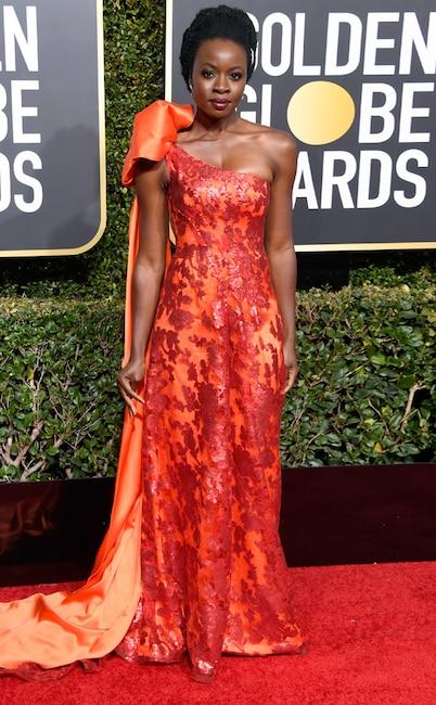 Danai Gurira, 76th Annual Golden Globe Awards, Red Carpet Fashions