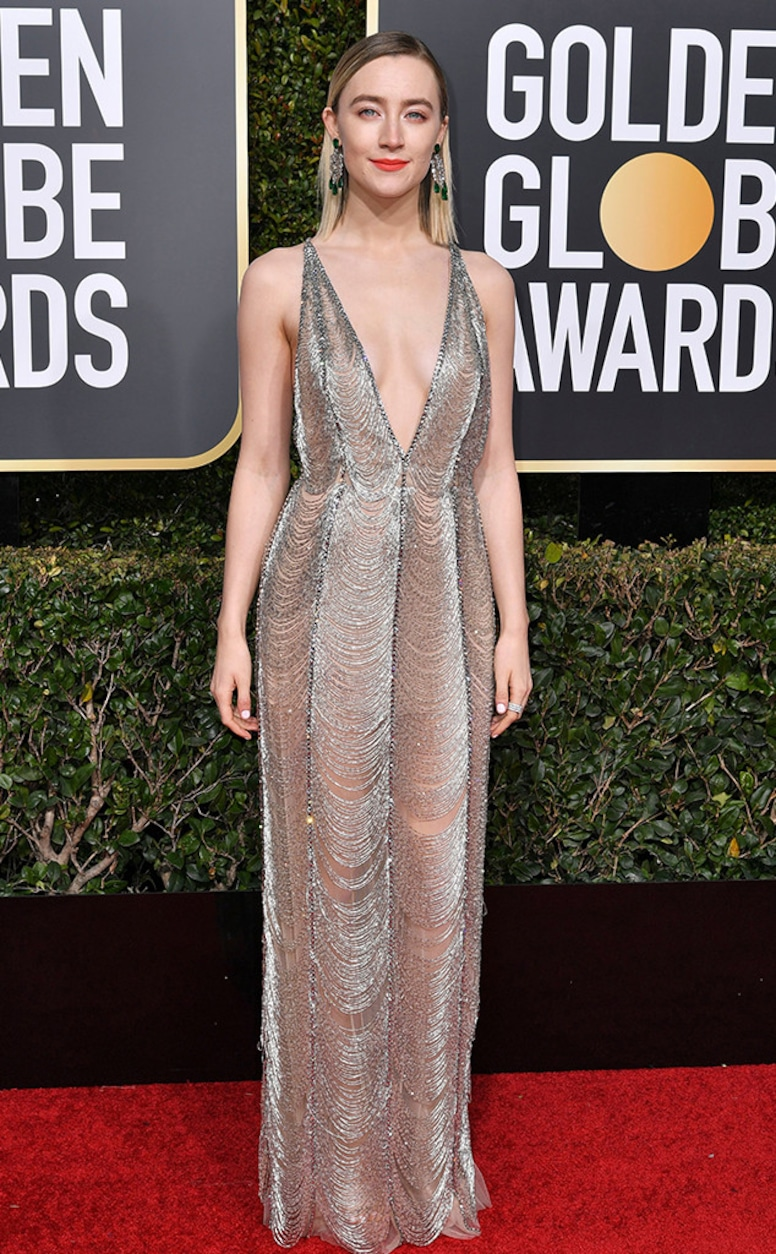 Saoirse Ronan, 2019 Golden Globes, Golden Globe Awards, Red Carpet Fashions