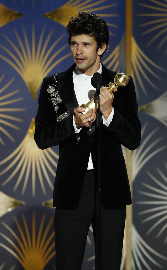 Ben Whishaw, 2019 Golden Globes, Golden Globe Awards, Winners