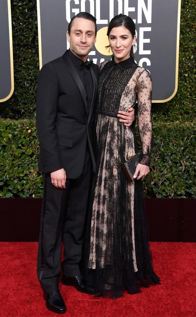 Kieran Culkin, Jazz Charton, 2019 Golden Globes, Couples